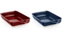 "Martha Stewart Collection CLOSEOUT! Ceramic 9"" x 13"" Rectangular Baking Dish, Created for Macy's"
