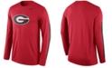 Nike Men's Long-Sleeve Georgia Bulldogs Legend DNA T-Shirt