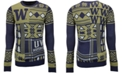 Forever Collectibles Men's Washington Huskies Patches Christmas Sweater