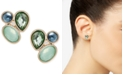 lonna & lilly Gold-Tone Stone Cluster Stud Earrings