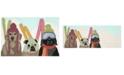 Liora Manne' Liora Manne Front Porch Indoor/Outdoor Ski Patrol Multi Area Rug