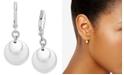 Lauren Ralph Lauren Gold-Tone Triple Disc Drop Earrings