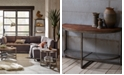 Furniture Beck Accent Table Collection, Quick Ship