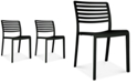Furniture Lama Set of 2 Indoor/Outdoor Chairs