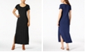 Style & Co Petite Scoop-Neck Maxi Dress, Created for Macy's