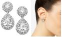 Eliot Danori Cubic Zirconia Pear Drop Earrings, Created for Macy's