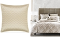 Hotel Collection  Distressed Chevron Quilted European Sham, Created for Macy's