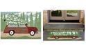 """Liora Manne' Liora Manne Front Porch Indoor/Outdoor Woody Wonderland Pine 2'6"""" x 4' Area Rug"""