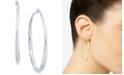 "Thalia Sodi Extra Large 2.3"" Textured Hoop Earrings, Created for Macy's"