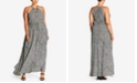 City Chic Trendy Plus Size Tile-Print Maxi Dress