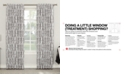 "Sun Zero Rosalie 52"" x 63"" Floral Blackout Lined Tab Top Curtain Panel"
