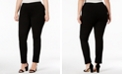 INC International Concepts INC Plus Size and Petite Plus Ponte Pull-On Skinny Pants, Created for Macy's