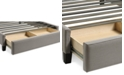 Furniture Upholstered Sensu-Cement King Storage Base
