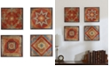 JLA Home Madison Park Moroccan Tile 4-Pc. Gel-Coated Deco Box Print Set