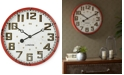JLA Home Madison Park Gremacy Metal Clock