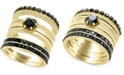 EFFY Collection Caviar by EFFY® Diamond 3-Pc. Ring Set in 14k Gold