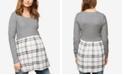 Motherhood Maternity Layered-Look Sweater