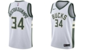 Nike Men's Giannis Antetokounmpo Milwaukee Bucks Association Swingman Jersey