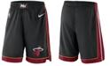 Nike Men's Miami Heat Icon Swingman Shorts