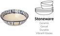 Crafted by Wainwright Lenox-Wainwright Pompeii Blu Sky Medium Serving Bowl, Created for Macy's