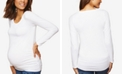 Motherhood Maternity BumpStart Long-Sleeve T-Shirt Two-Pack