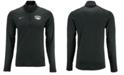 Nike Men's Nevada Wolf Pack Heather Dri-FIT Element Quarter-Zip Pullover