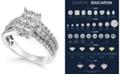 Macy's Diamond Princess Cluster Ring (1-1/2 ct. t.w.) in 14k White Gold