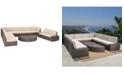 Noble House Baja Outdoor 12-Pc. Sectional Sofa Set, Quick Ship