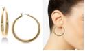 Lauren Ralph Lauren Gold-Tone Graduated Hoop Earrings