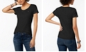 Tommy Hilfiger Cotton Scoop Neck T-Shirt, Created for Macy's