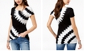 INC International Concepts I.N.C. Petite Tie-Dyed Studded Top, Created for Macy's