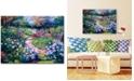 "Trademark Global David Lloyd Glover 'Natures Garden' Canvas Art - 47"" x 35"""