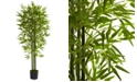 Nearly Natural 5' Artificial Bamboo UV-Resistant Indoor/Outdoor Tree
