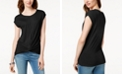 INC International Concepts INC Twist-Front Top, Created for Macy's