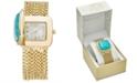 Charter Club Women's Gold-Tone Multi-Chain Bracelet Watch 31mm, Created for Macy's