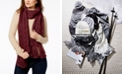 Michael Kors Pointelle Cable-Knit Scarf
