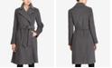 Lauren Ralph Lauren Wool-Cashmere Blend Notch Collar Wrap Coat