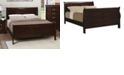 Coaster Home Furnishings Queensbridge Traditional Queen Sleigh Bed, Quick Ship
