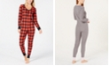 Jenni Thermal One-Piece Pajama, Created for Macy's