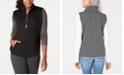 Karen Scott Sport Quilted Fleece Vest, Created for Macy's