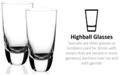 Villeroy & Boch American Bar Straight Bourbon Highball Glasses, Set of 2