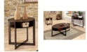 Furniture of America Prontus Round End Table