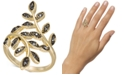 INC International Concepts I.N.C. Crystal Leaf Wrap Ring, Created for Macy's