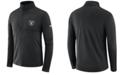 Nike Men's Oakland Raiders Core Modern Quarter-Zip Pullover