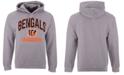 Authentic NFL Apparel Men's Cincinnati Bengals Gym Class Hoodie