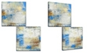 """Ready2HangArt 'The View I/II' 2 Piece Abstract Canvas Wall Art Set, 20x20"""""""