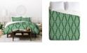 Deny Designs Holli Zollinger Beaded Triangle Twin Duvet Set