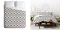 Deny Designs Holli Zollinger Dot And Plus Mudcloth King Duvet Set