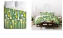 Deny Designs Heather Dutton Droplets Queen Duvet Set