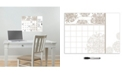 Brewster Home Fashions Kolkata Monthly Calendar With Notes Decal Set Of 2